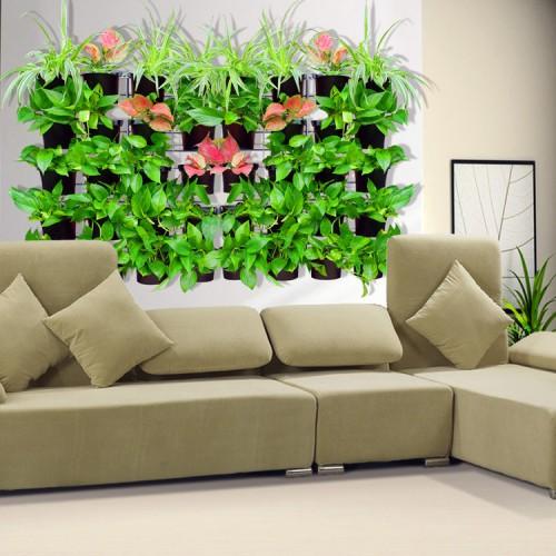 Plantenpot-Verticale-tuin-donkergroen