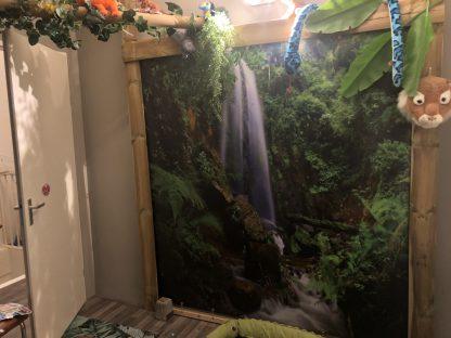 Wanddoek-Waterfall