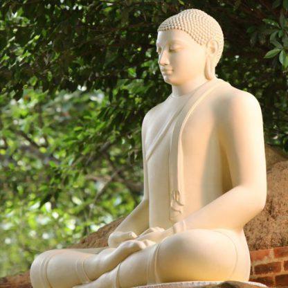 Wanddoek-boeddha