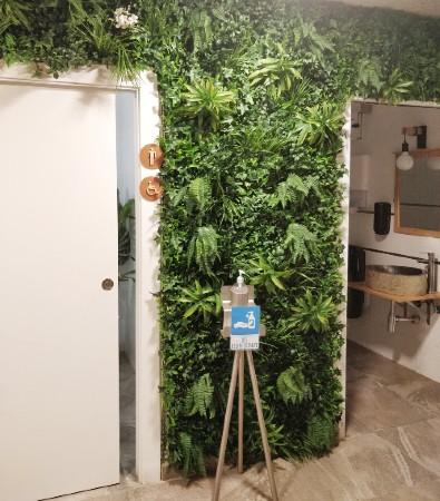 groenewand-badkamer